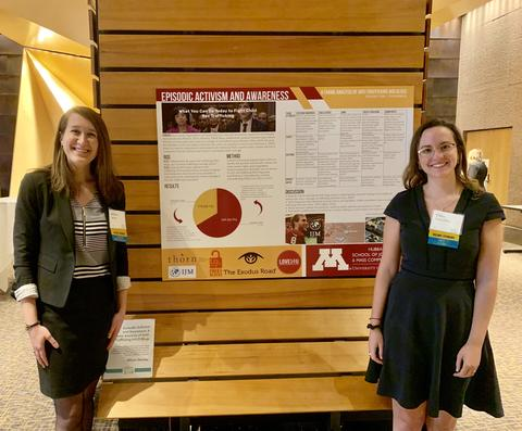 Grad Students Present at Showcase