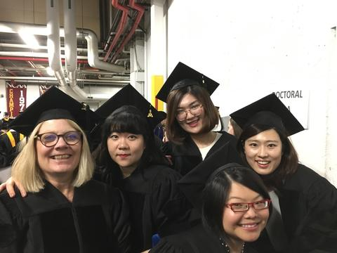 PhD Graduates at 2019 Commencement
