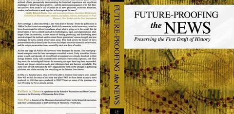 "Cover of ""Future-Proofing the News"""