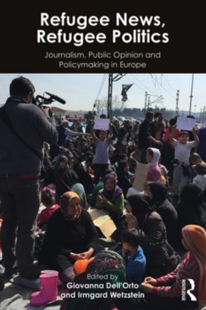 "front cover of ""Refugee News, Refugee Politics"" by Giovanna Dell'Orto"